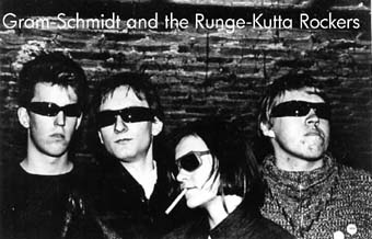 Gram-Schmidt and the Runge-Kutta Rockers